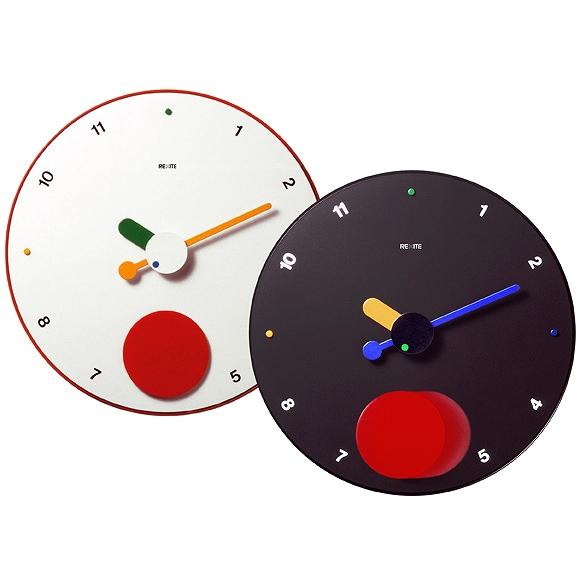 【ポイントアップ中&割引クーポン配布中】レキサイト(REXITE) 掛け時計 コントラテンポ (CONTRATTEMPO) 振り子時計 大型 正規品 直輸入 イタリア デザイン リビング おしゃれ