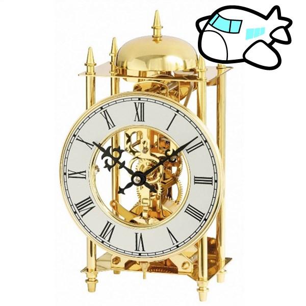 AMS 置き時計 機械式 アナログ ドイツ製 ゴールド AMS1183 納期1ヶ月程度 (YM-AMS1183)