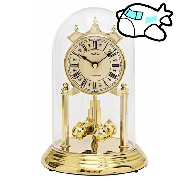 AMS 置き時計 アナログ ゴールド ドイツ製 AMS1204 納期1ヶ月程度 (YM-AMS1204)