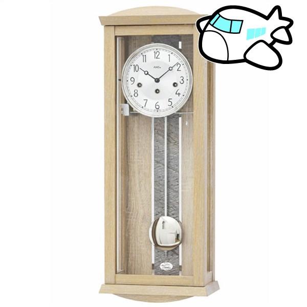 AMS 掛け時計 振り子時計 アナログ ドイツ製 AMS2745 納期1ヶ月程度 (YM-AMS2745)