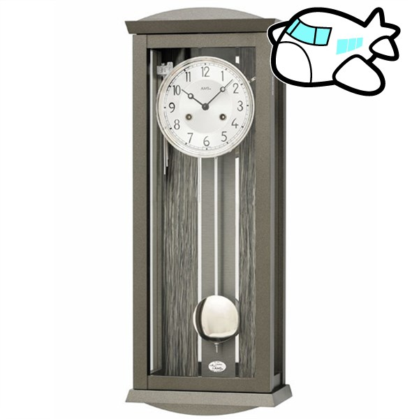 AMS 掛け時計 振り子時計 機械式 アナログ ドイツ製 AMS2748 納期1ヶ月程度 (YM-AMS2748)