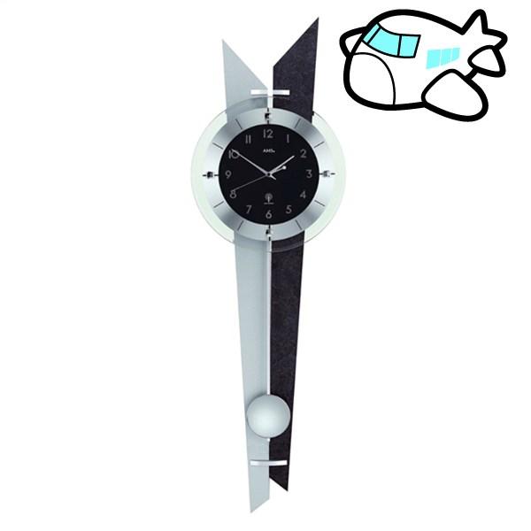 AMS 掛け時計 振り子時計 アナログ ドイツ製 AMS5253 納期1ヶ月程度 (YM-AMS5253)