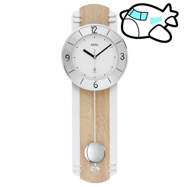 AMS 掛け時計 振り子時計 アナログ ドイツ製 AMS5291 納期1ヶ月程度 (YM-AMS5291)