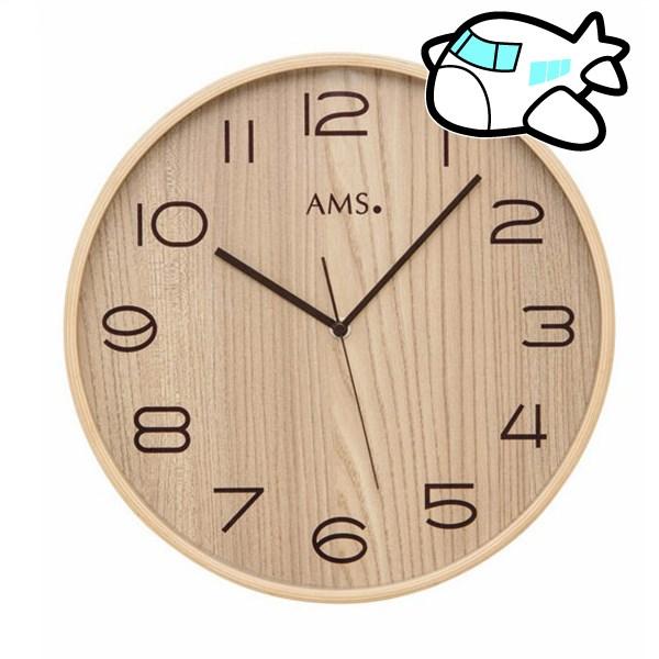 AMS 掛け時計 アナログ ドイツ製 AMS5514 納期1ヶ月程度 (YM-AMS5514)