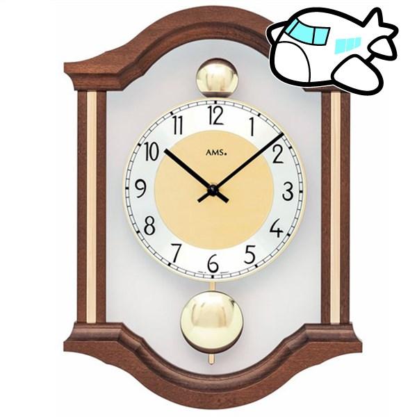 AMS 掛け時計 アナログ ドイツ製 AMS7447-1 納期1ヶ月程度 (YM-AMS7447-1)
