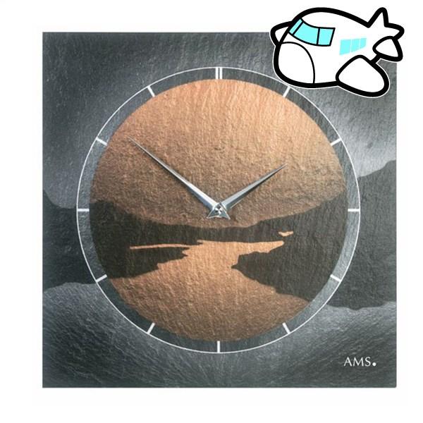 AMS 掛け時計 アナログ ドイツ製 AM9513 納期1ヶ月程度 (YM-AMS9513)