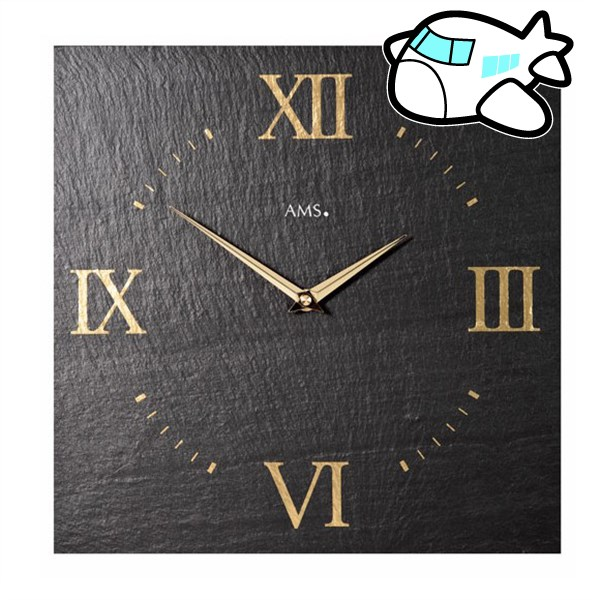 AMS 掛け時計 アナログ ドイツ製 AM9517 納期1ヶ月程度 (YM-AMS9517)