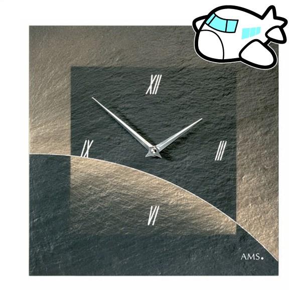 AMS 掛け時計 アナログ ドイツ製 AM9519 納期1ヶ月程度 (YM-AMS9519)