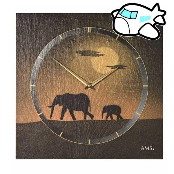 AMS 掛け時計 アナログ ドイツ製 AM9523 納期1ヶ月程度 (YM-AMS9523)