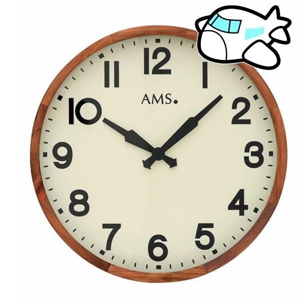 【ポイントアップ中&割引クーポン配布中】AMS 掛け時計 アナログ ドイツ製 AMS9535 納期1ヶ月程度 (YM-AMS9535)