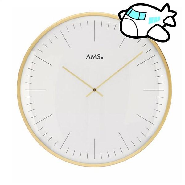 AMS 掛け時計 アナログ ドイツ製 ゴールド AMS9541 納期1ヶ月程度 (YM-AMS9541)