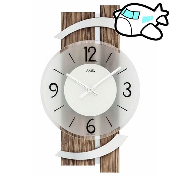 AMS 掛け時計 アナログ ドイツ製 AMS9545 納期1ヶ月程度 (YM-AMS9545)