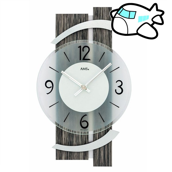 AMS 掛け時計 アナログ ドイツ製 AMS9547 納期1ヶ月程度 (YM-AMS9547)