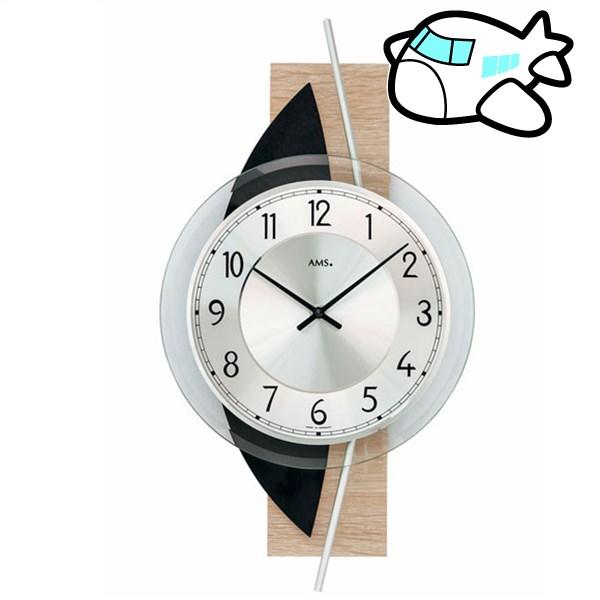 AMS 掛け時計 アナログ ドイツ製 AMS9551 納期1ヶ月程度 (YM-AMS9551)