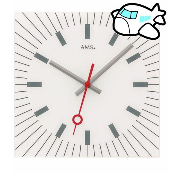 AMS 掛け時計 アナログ ドイツ製 AMS9576 納期1ヶ月程度 (YM-AMS9576)