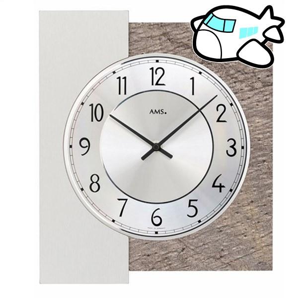 AMS 掛け時計 アナログ ドイツ製 AMS9580 納期1ヶ月程度 (YM-AMS9580)