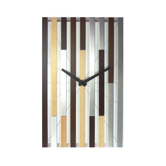 掛け時計 デザイン タペクロック シャープ ステップムーブメント 日本製 (FO-V0052)