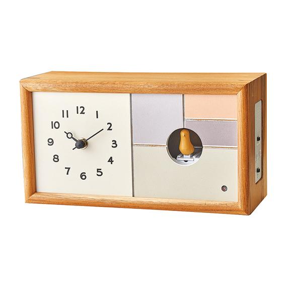 掛け時計 置き時計 ハト時計 カッコー時計 報時 かわいい デザイン インテリア 女性 おしゃれ リビング 子供部屋 寝室 プレゼント ギフト 「シャルロア」 (IF-CL3725)