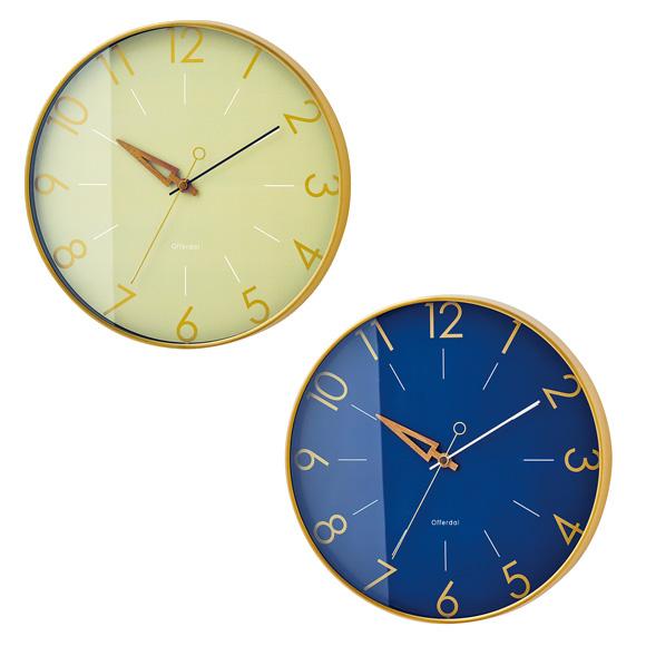 掛け時計 トゥリス シンプル おしゃれ 北欧 デザイン リビング プレゼント ギフト (IF-CL3849)*ネイビーNVメーカー欠品