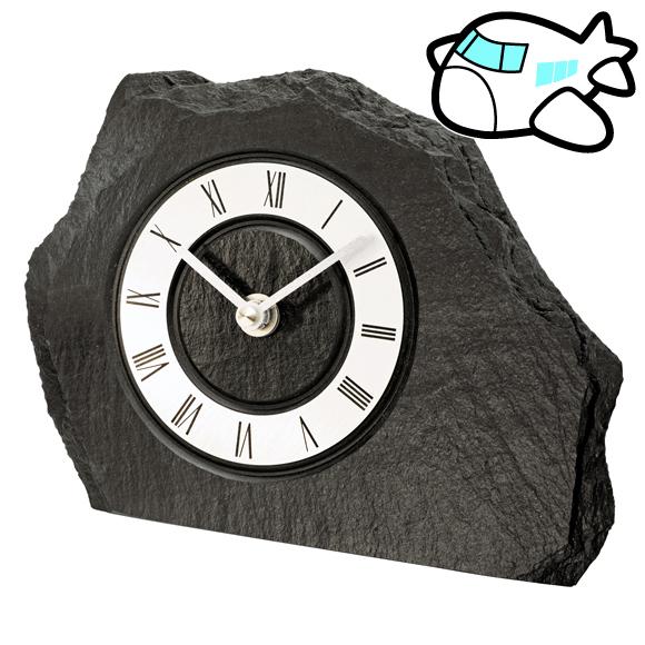 AMS ドイツ製 置き時計 モダン 石 デザイン クール ユニーク リビング ギフ ト記念品 開院祝い 開業 オフィス ロビー AMS1104