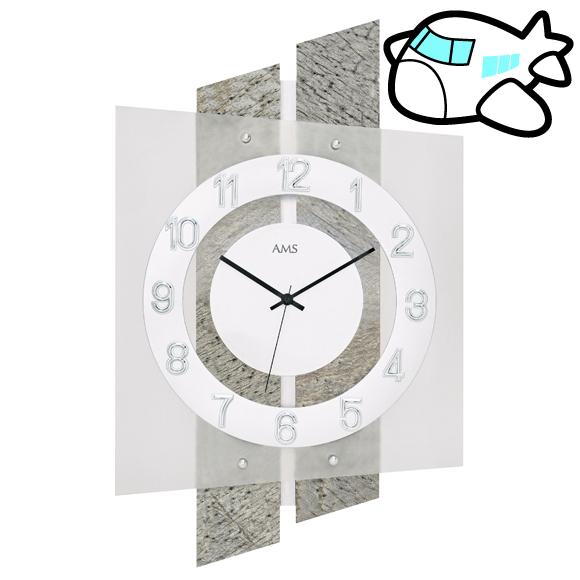 AMS ドイツ製 掛け時計 石 リビング ギフ ト記念品 開院祝い 開業 オフィス ロビー AMS5536