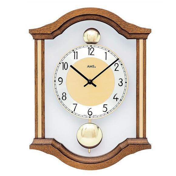 AMS 掛け時計 アナログ ドイツ製 AMS7447-4 【期間限定30%OFF!】国内在庫 即納 (YM-AMS7447-4J)