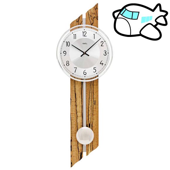 AMS 掛け時計 振り子時計 大型 ドイツ製 納期1ヶ月程度 (YM-AMS7468)