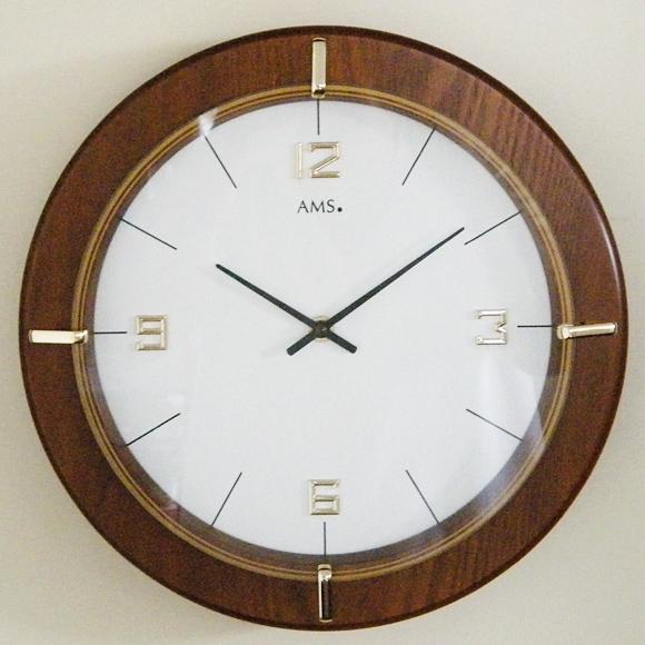 AMS ドイツ製 掛け時計 【期間限定32%OFF!】 国内在庫 即納  (YM-AMS9432J)