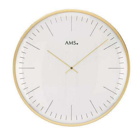 AMS 掛け時計 アナログ ドイツ製 ゴールド AMS9541 国内在庫 即納 (YM-AMS9541J)