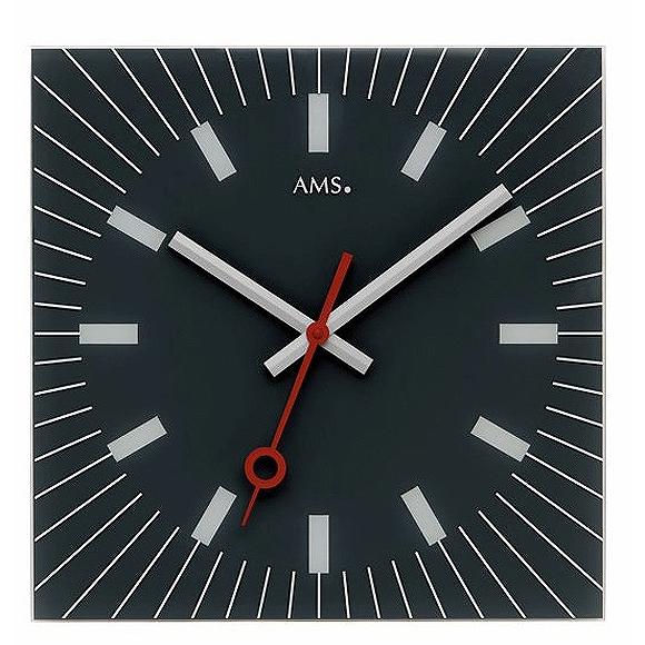 AMS 掛け時計 アナログ ドイツ製 AMS9575 国内在庫 即納 (YM-AMS9575J)