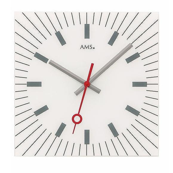 AMS 掛け時計 アナログ ドイツ製 AMS9576 国内在庫 即納 (YM-AMS9576J)