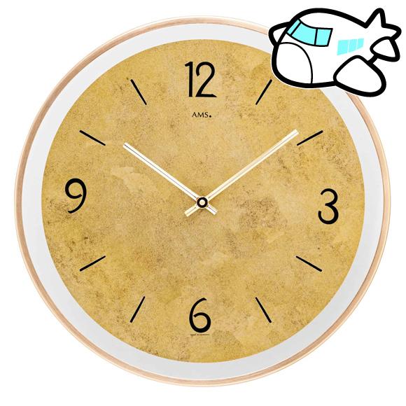 AMS 掛け時計 壁掛け時計 大型 ドイツ製 納期1ヶ月程度 (YM-AMS9627)