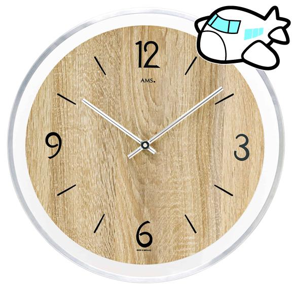 AMS 40cm 掛け時計 ドイツ製 納期1ヶ月程度 (YM-AMS9628)