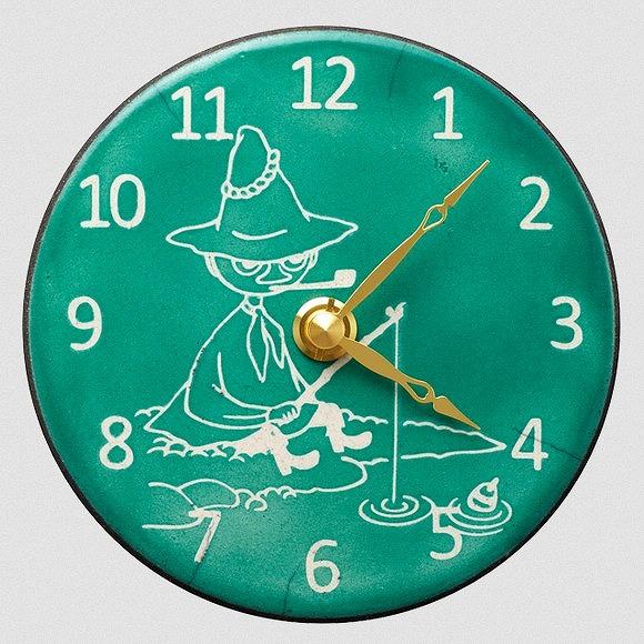シチズン CITIZEN 掛け時計 正規販売店 掛置兼用 陶器 作家アントニオ イタリア製陶器 ムーミンシリーズ Clock Pottery スピード対応 全国送料無料 スナフキン ザッカレラ氏