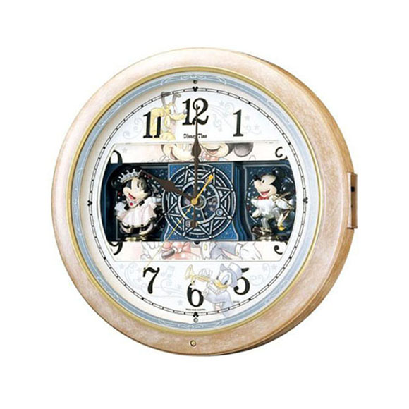 セイコー SEIKO 掛け時計 からくり時計 FW561A ディズニー ミッキー ミッキー&フレンズ 電波時計 スイープ メロディ 【送料無料】 【10P01Oct16】