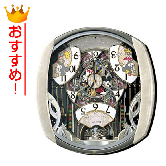 セイコー SEIKO 掛け時計 からくり時計 FW563A ディズニー ミッキー ミニー ミッキー&フレンズ 電波時計 メロディ 【送料無料】 【10P01Oct16】