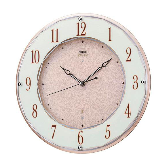 【送料無料】 SEIKO セイコー EMBLEM 掛け時計 (HS524A) (検) 時計 掛け時計 掛時計 かけ時計 木製