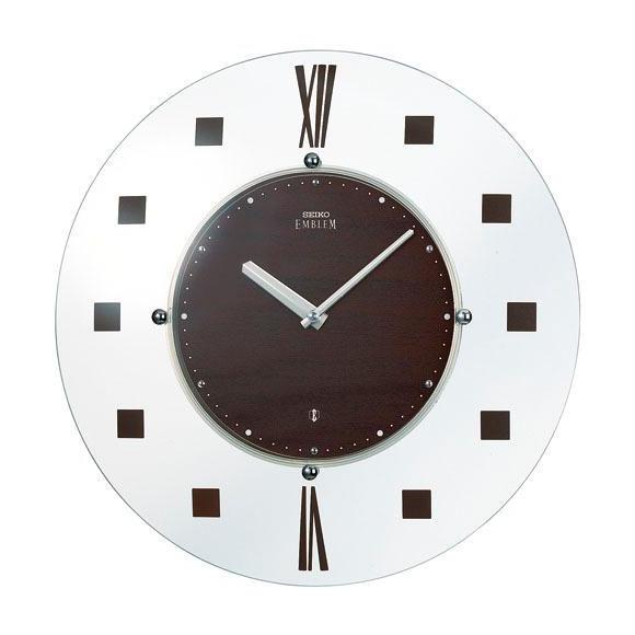 【送料無料】 SEIKO セイコー EMBLEM 掛け時計 (HS529B) (検) 時計 掛け時計 掛時計 かけ時計 木製