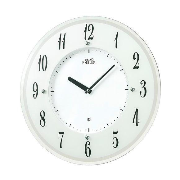 【送料無料】 SEIKO セイコー EMBLEM 掛け時計 (HS533W) (検) 時計 掛け時計 掛時計 かけ時計 木製