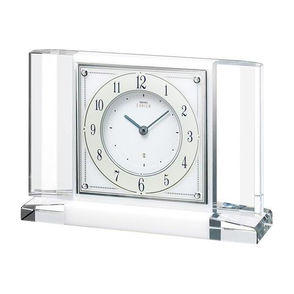 【送料無料】 SEIKO セイコー EMBLEM 置時計 (HW564W) (検) 時計 置き時計 目覚し時計 置時計