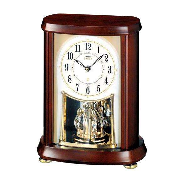 【送料無料】 SEIKO セイコー EMBLEM 置時計 (HW566B) (検) 時計 置き時計 目覚し時計 置時計