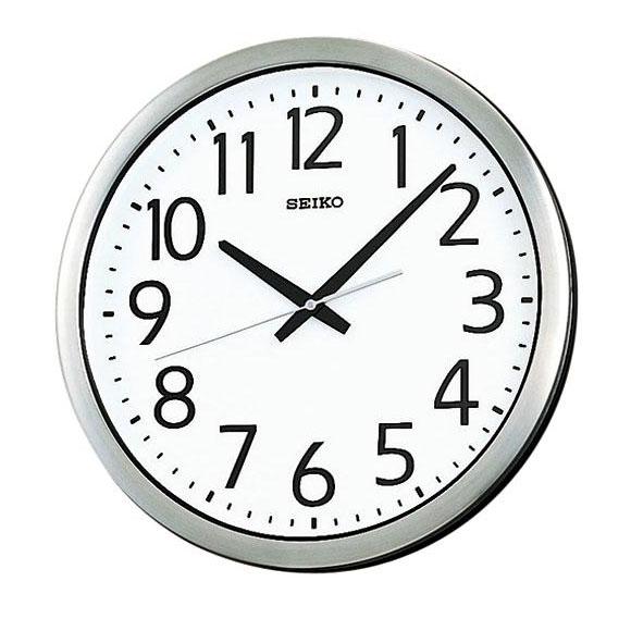 SEIKO セイコー 掛け時計 オフィスタイプ 防湿・防塵型 (KH406S) (検) 時計 掛け時計 掛時計 かけ時計 木製