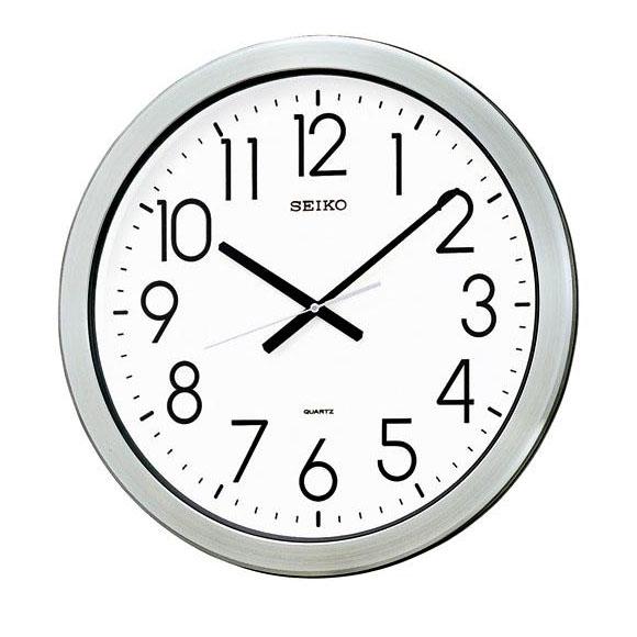 SEIKO セイコー 掛け時計 オフィスタイプ 防湿・防塵型 (KH407S) (検) 時計 掛け時計 掛時計 かけ時計 木製