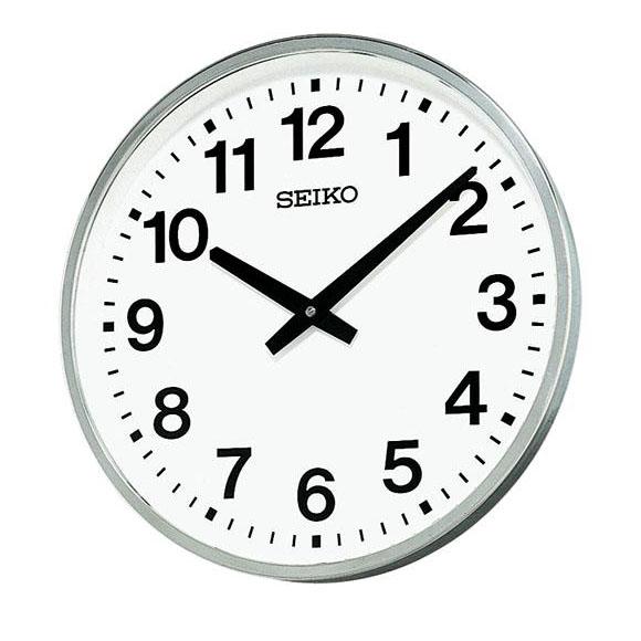 【ポイントアップ中&割引クーポン配布中】 【 送料無料 】 SEIKO セイコー 掛け時計 オフィスタイプ 屋外・防雨型 (KH411S)  (検) 時計 掛け時計 掛時計 かけ時計 木製