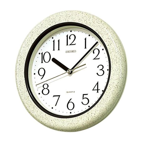 SEIKO セイコー 掛け時計 キッチン&バスクロック (KS441H) (検) 時計 掛け時計 掛時計 かけ時計 木製