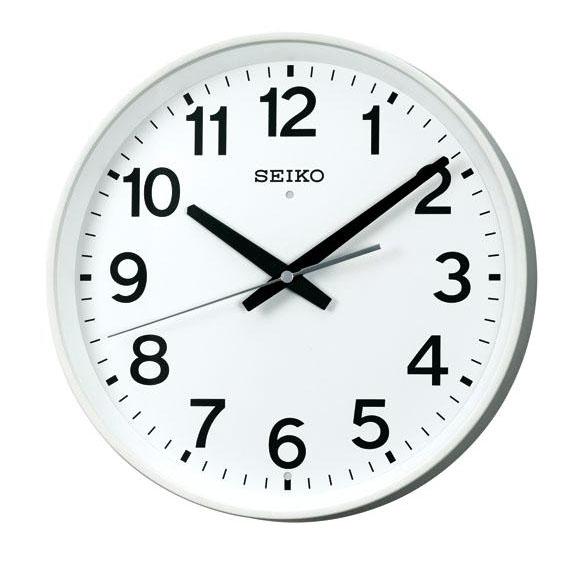 SEIKO セイコー 掛け時計 オフィスタイプ スイープ 電波 時計 (KX317W) (検) 時計 掛け時計 掛時計 かけ時計 木製