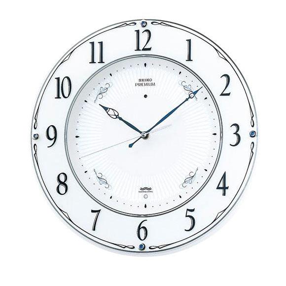 SEIKO セイコー 掛け時計 スイープ 電波 時計 (LS230W) (検) 時計 掛け時計 掛時計 かけ時計 木製