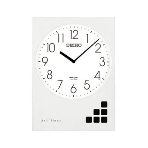 SEIKO セイコー ベルタイマ 交流電流式 屋外用 (QBT-30) (検) 時計 掛け時計 掛時計 かけ時計 木製