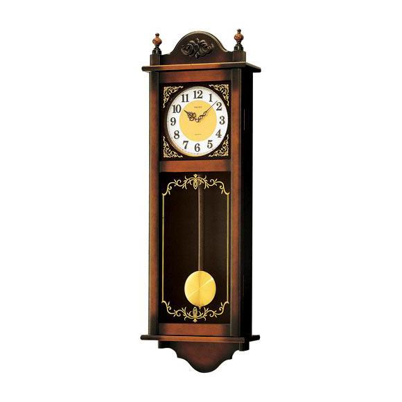 【ポイントアップ中&割引クーポン配布中】 【 送料無料 】 SEIKO セイコー 振り子時計 報時 (RQ307A) *予約注文2ヶ月程度 (検) 時計 掛け時計 掛時計 かけ時計 木製