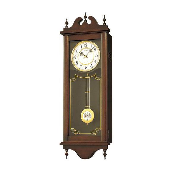 【エントリーで★最大ポイント10倍!】 【 送料無料 】 SEIKO セイコー 振り子時計 報時 (RQ309A) 【smtb-tk】 (検) 時計 掛け時計 掛時計 かけ時計 木製【10P05Nov16】